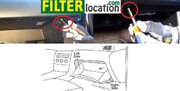 How to change Hyundai Entourage cabin air filter