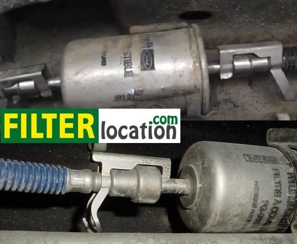 2010 ford f 150 fuel filter location