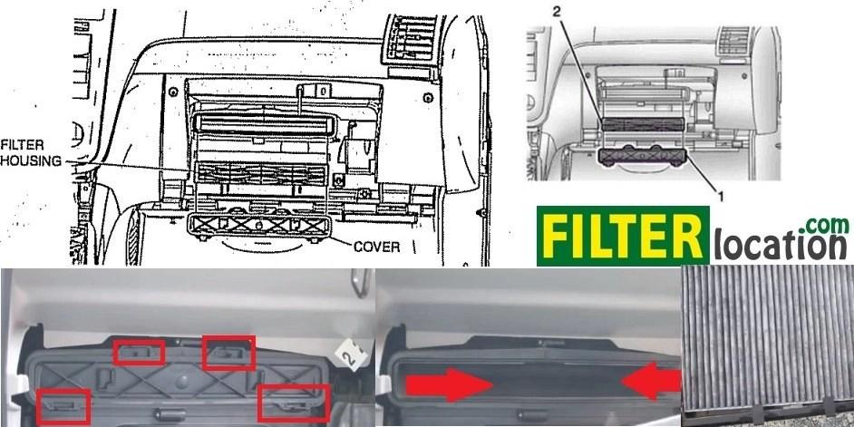 2011 Dodge Grand Caravan Cabin Air Filter Location - wiring diagrams