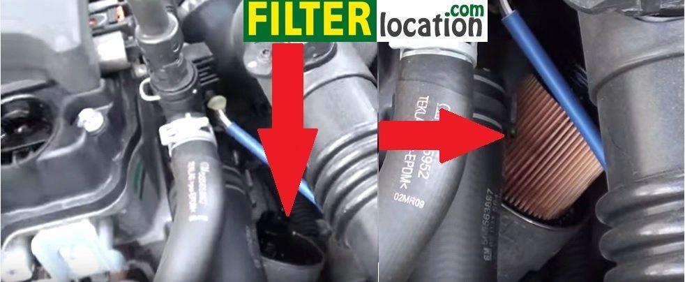 cruze fuel filter