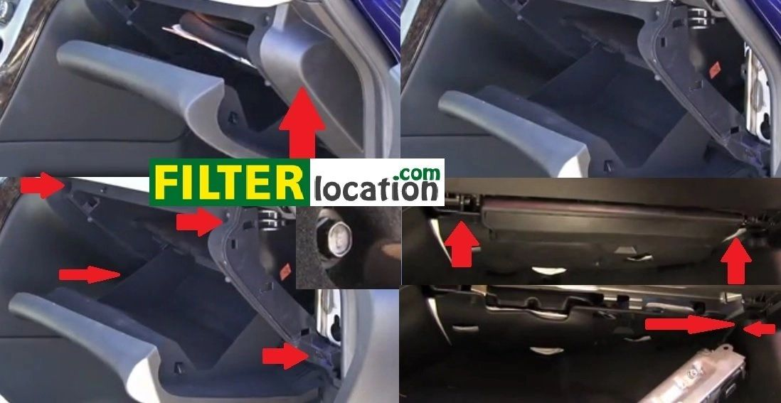 ford f 250 fuel filter location