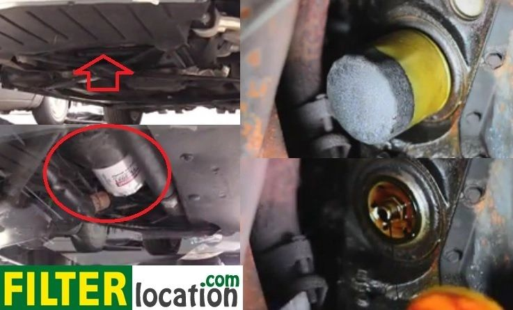 2002 ford f350 fuel filter