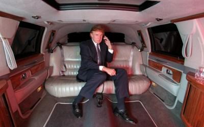 trump-limo