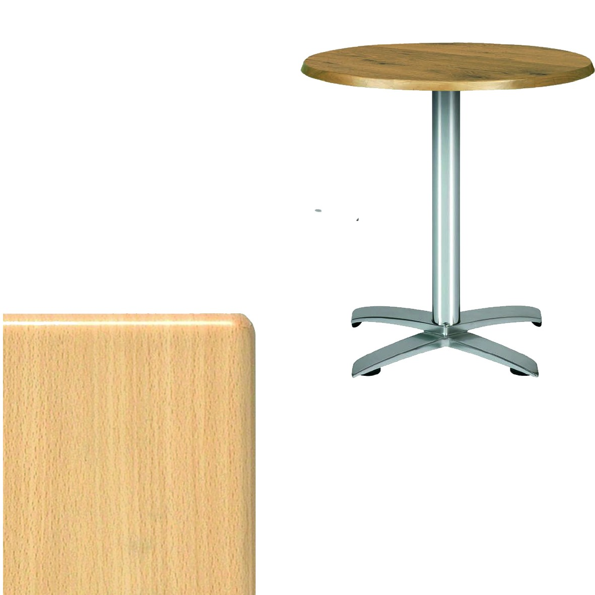 Table En Hetre Solo Bois All Weather Table Top Hetre Filton Brewery Products