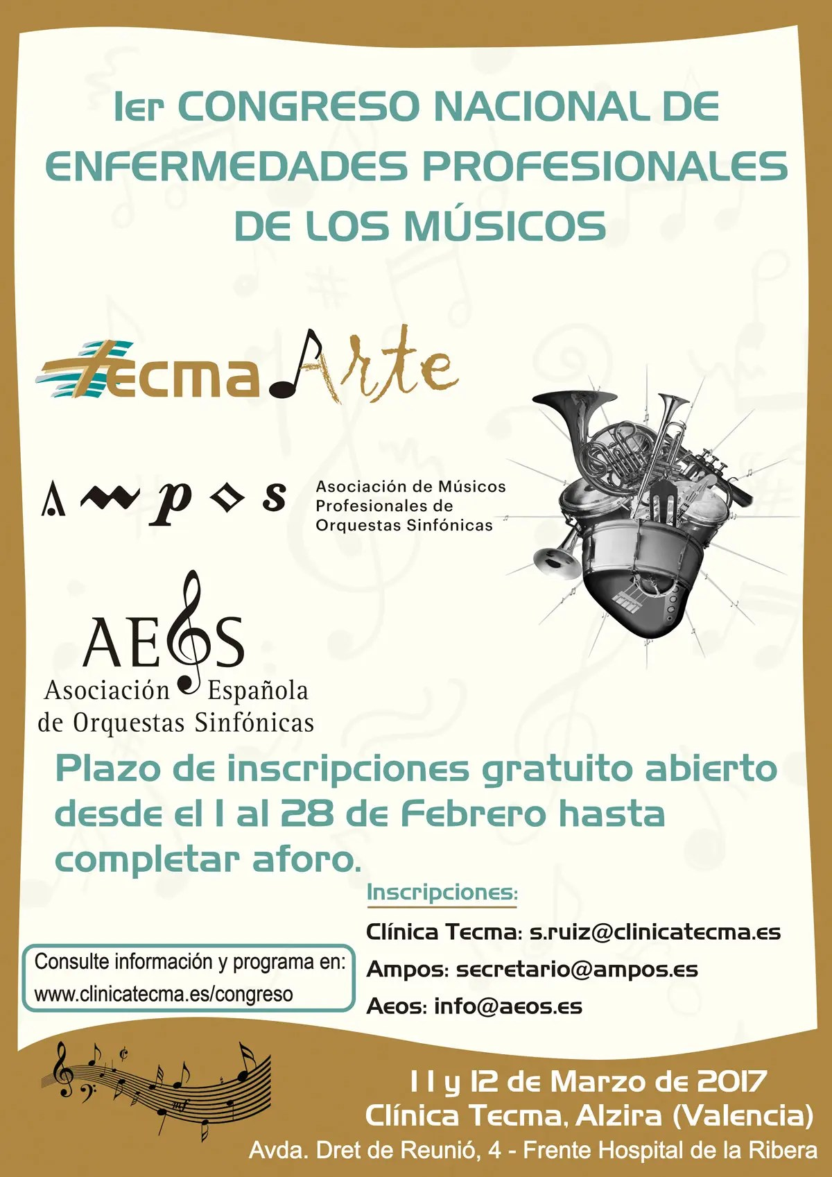 La Arte In Spanish Spain Conference On Musicians Professional Ailments Fim