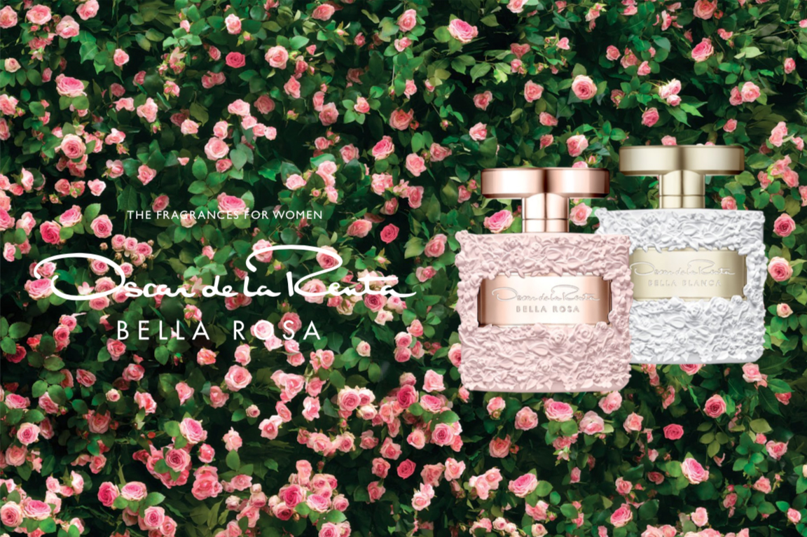Bella Rosa Oscar De La Renta Bella Rosa New Fragrances