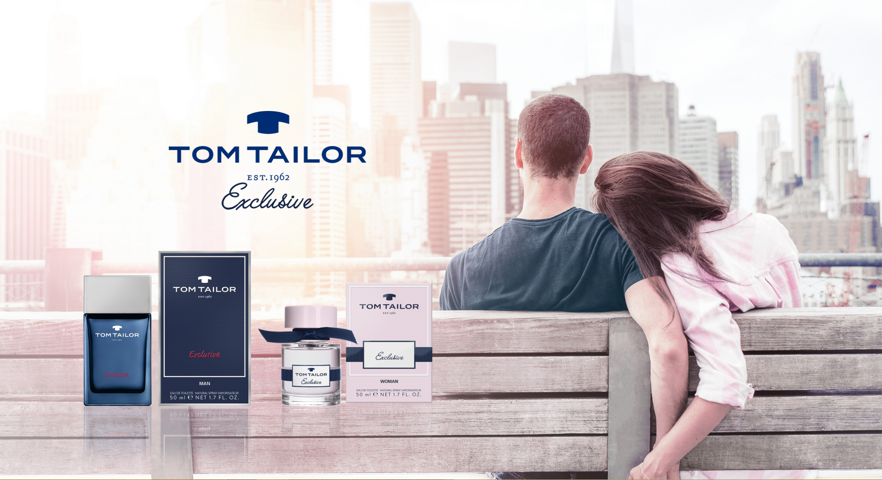 Tom Tailoer Tom Tailor Exclusive Man Tom Tailor ماء كولونيا A Fragrance