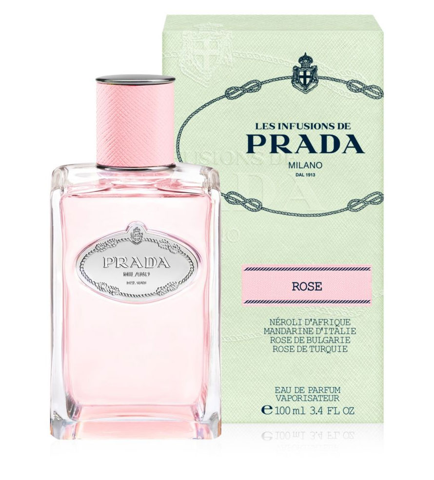 Image De Rose Infusion De Rose 2017 Prada For Women