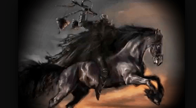 Evil Dark Spirit Girl Wallpaper Hd The Black Horse Famine Final Voices