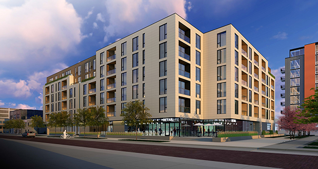 Developer swaps North Loop office plan for apartments \u2013 Finance