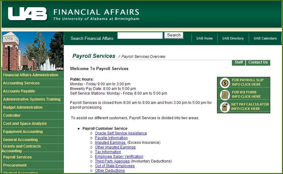 UAB University Net Pay Calculator Guide - PDF