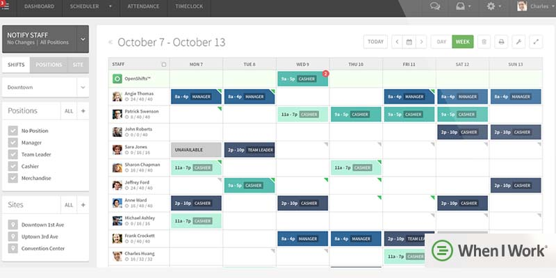 Top 15 Employee Scheduling Software of 2018 Comparison of Leading