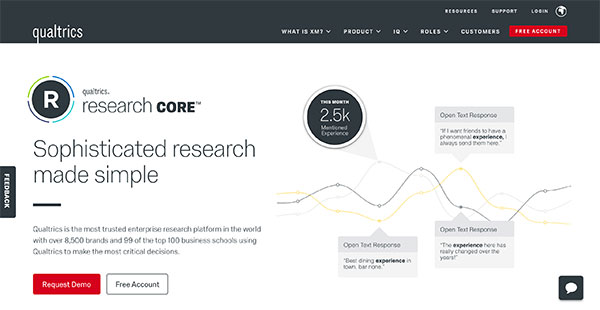 Qualtrics Research Core Reviews Overview, Pricing and Features
