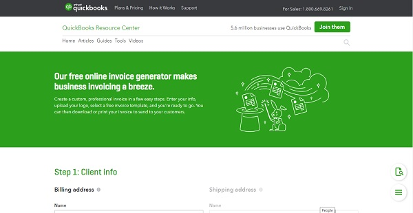 QuickBooks Invoice Generator Reviews Overview, Pricing and Features