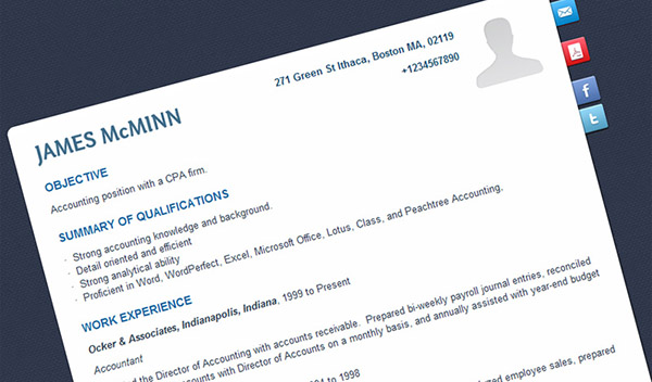 How to Write a Professional and Creative Resume - Financesonline - how to make a creative resume