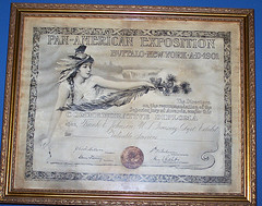Commemorative Diploma from 1901