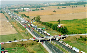 The 87-vehicle pile up on September 3, 1999
