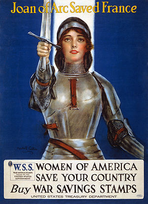 "English: ""Joan of Arc saved France--Women..."