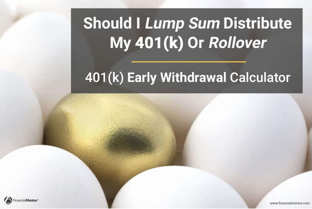 401k Early Withdrawal Calculator - retirement withdrawal calculator