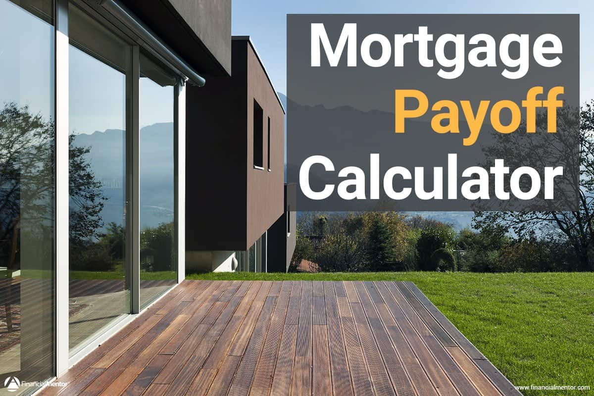 mortgage early payment calculator