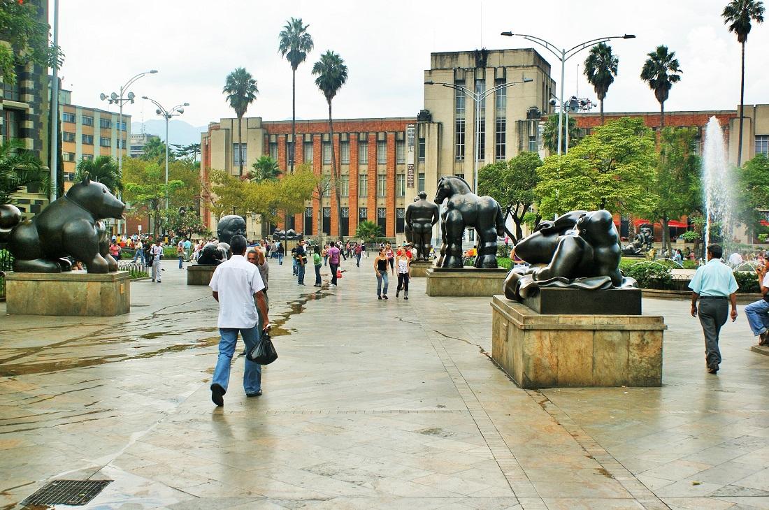 Medellín – La Plaza Botero