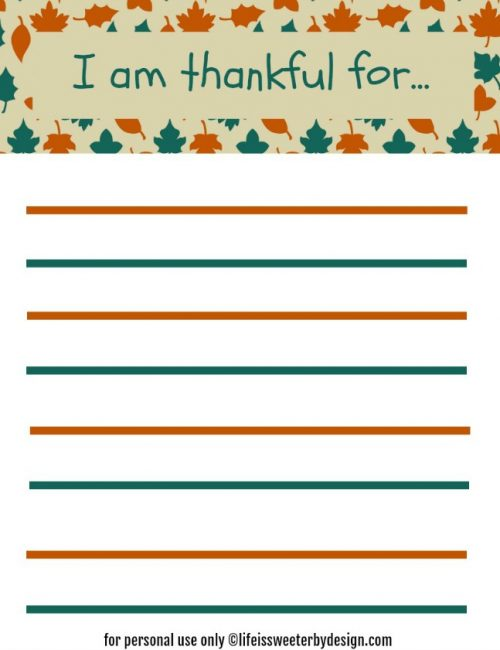 Find a Free Printable - A free printable for every part of your life!
