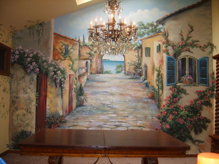 Tray Ceiling Mural Photo Album #10751 - Mural Photo Album By Carrie