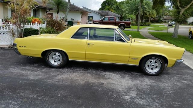 Pontiac GTO Coupe 1965 Yellow For Sale 237375P367668 1965 GTO 2 DR