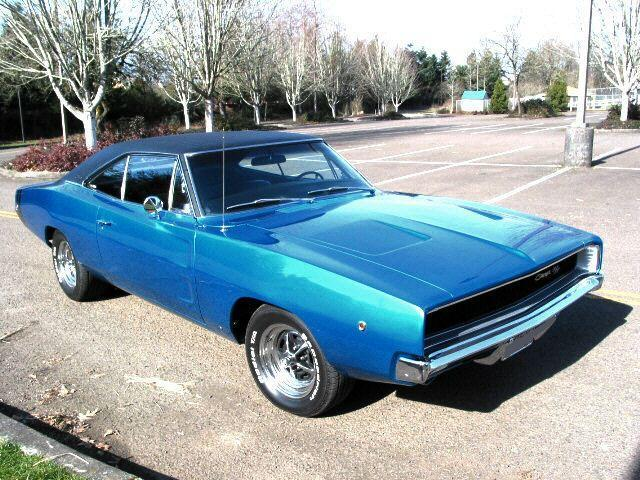 Dodge Charger Coupe 1968 Blue For Sale XP29G8B404955 1968 Dodge