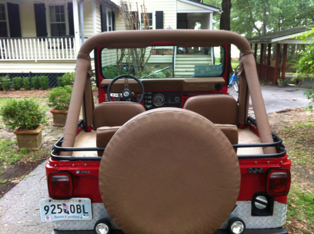 Jeep CJ SUV 1978 Red For Sale 1978 CJ5 - Almost Like New, New 304