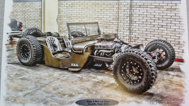 Willys CJ2A Convertible 1948 OLIVE DRAB For Sale Rat Rod Jeep Hot