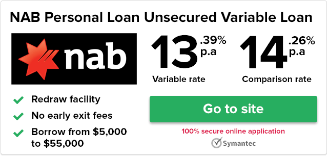 NAB Unsecured Variable Rate Personal Loan Review | finder.com.au