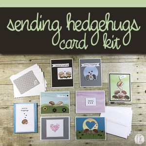 sending hedgehugs card product