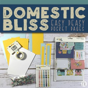 Domestic Bliss Easy Peasy Pocket Cards - Featured