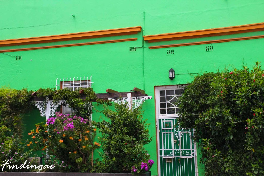green boo-kaap house