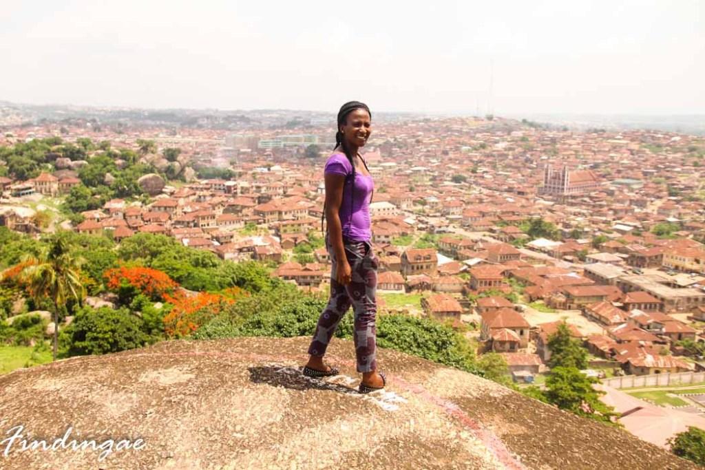 Olumo Rock, Abeokuta, Ogun State.