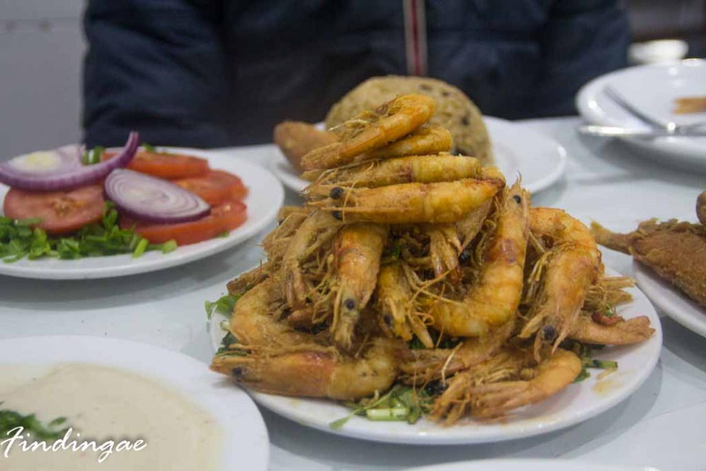 Sea Food in Alexandria
