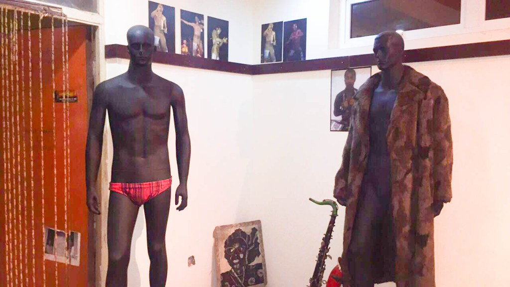 Fela Clothes at Kalakuta Museum