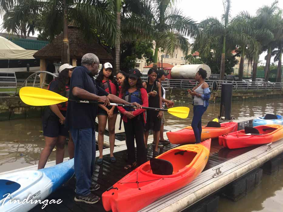 Kayaking in Lagos Nigeria