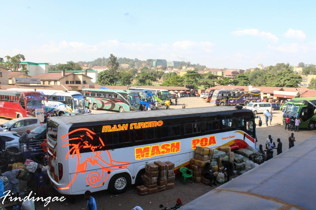 Nairobi to Mombasa by bus