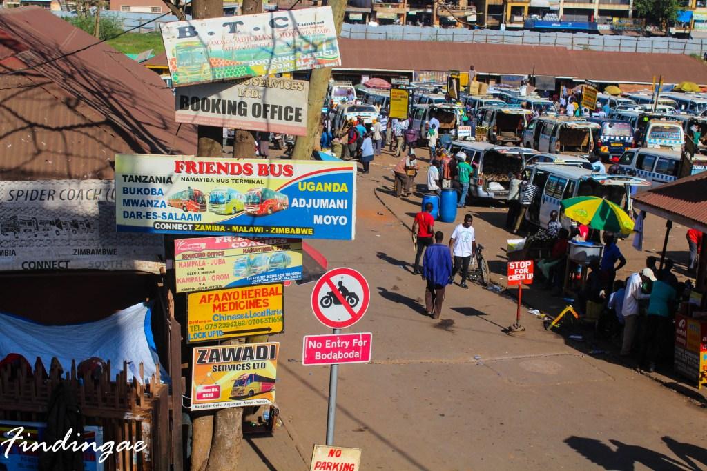 Kampala to Nairobi distance