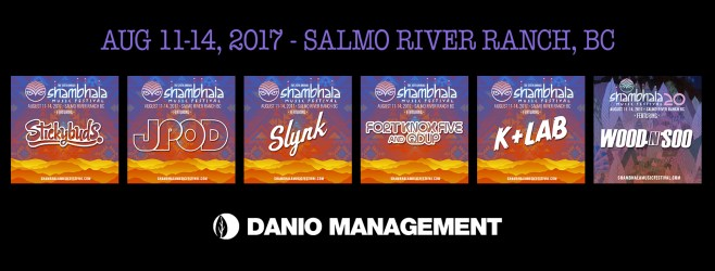 Shambhala 2017 - Danio Artists - FB Cover Photo
