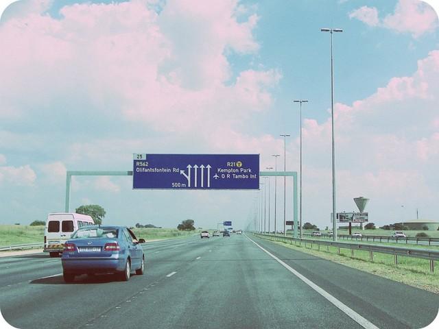 R21 near Olifantsfontein