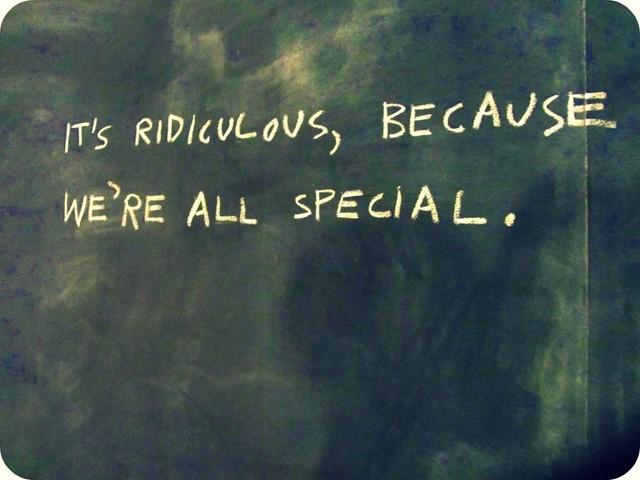 Sayings on a Chalkboard