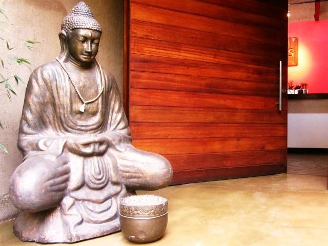 Woodlands Door Buddha