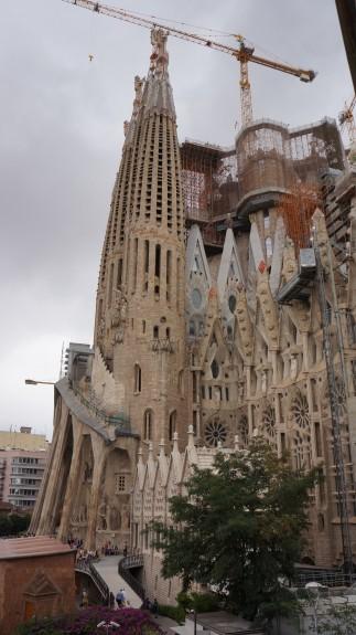 getting to Sagrada Familia with Blablacar
