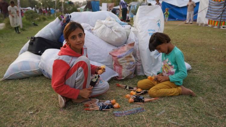 Zakho Iraq Refugee Camp