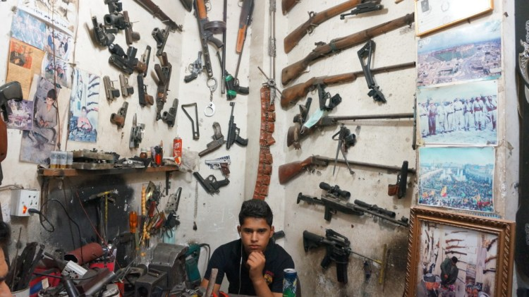 things to do in erbil - gun store