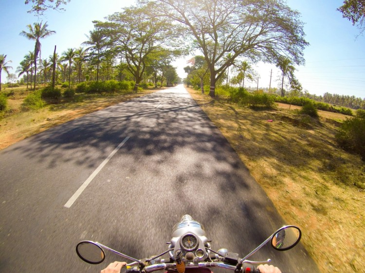 Hampi to Mysore on a motorcycle