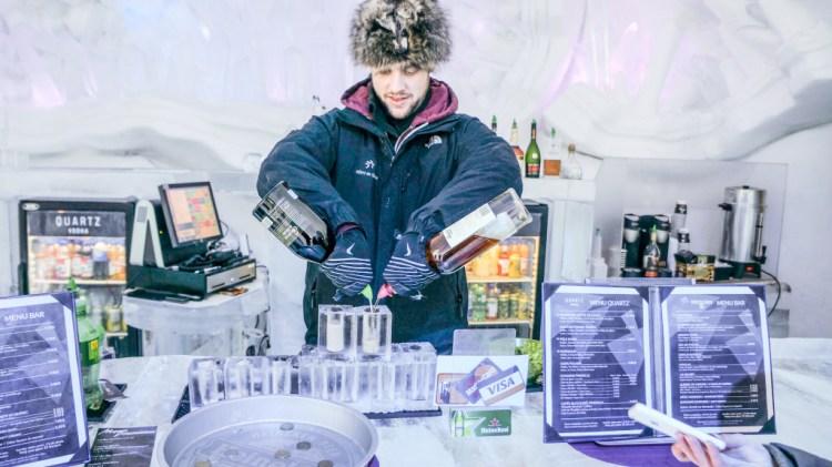 Quebec Ice Hotel Glace